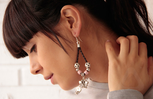 Pendientes butterfly