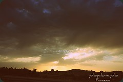 Sunset in Sardinia / Co