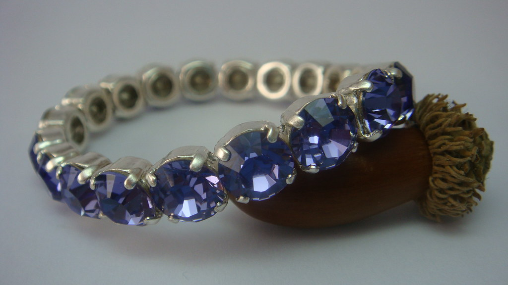 Swarovski Tennis Bracelet in Tanzanite