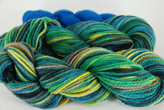 """Sky Meadow"" 8.65oz Cestari Fine Merino + 2oz trim"
