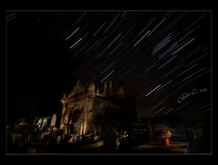 And time goes by (Claudio_Firenze) Tags: cemetery night stars star trail notte cimitero stelle startrail fotonotturne scie toiano