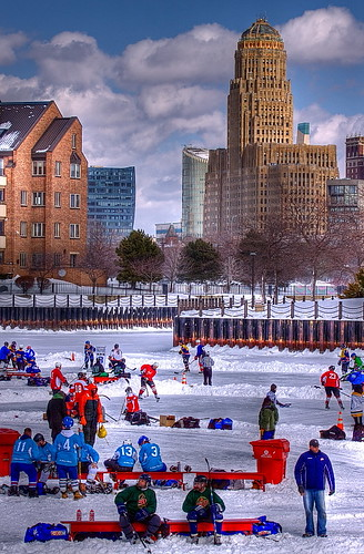 Labatt Pond Hockey 2011 by dhnieman
