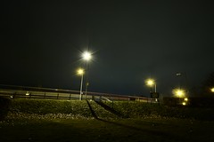 (nzbuu) Tags: road street city longexposure cambridge england urban church unitedkingdom gimp wideangle nighttime lighttrails newmarketroad canonefs1022mmf3545usm ufraw leperchapel canoneos450d leperchapelofstmarymagdalene