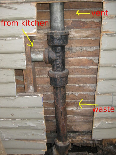 Supporting Vertical Vent Pipe Terry Love Plumbing