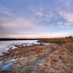on the lake (Mariusz Petelicki) Tags: lake hdr jezioro zalew chechło vertorama mariuszpetelicki