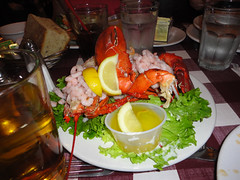 The lobster we had in San Francisco