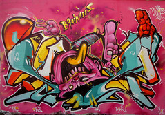 SEZ___BRaInLeeS(brainless!) (SRCARAMELOS) Tags: inca mural paint fat spray urbanart alicante cerro sin sez graff eds logan th dans pintura envoy brainless colourz 2011 2k11 pistolo