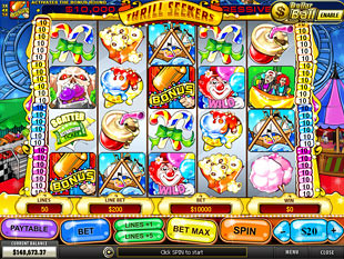 Thrill Seekers slot game online review