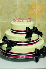 Sweet 17th 3 Tiered Cake