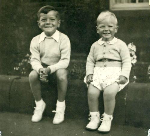 Douglas and Roderick McCreath, Troon 1950