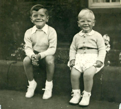 Image titled Douglas and Roderick McCreath, Troon 1950
