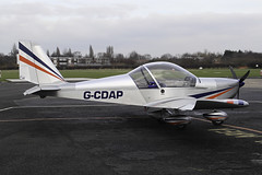 G-CDAP - 2004 build EV97 Eurostar, the most recent Barton resident