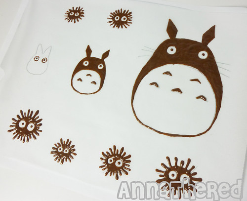 How to make Totoro chocolate