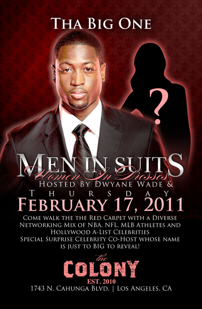 Men in Suits, Women In Dresses, Dwayne Wade