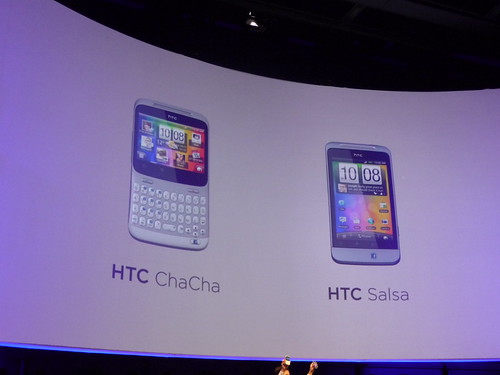 HTC Facebook phones (ChaCha and Salsa)
