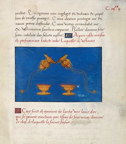 010-Ms. Fr. 167-©Genève, Bibliothèque de Genève- Introduction à la Cabale, dédiée au roi François Ier-f 185r