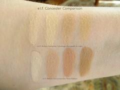 e.l.f. Studio Concealer Palette Swatches