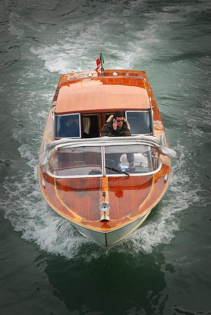 Venician Water Taxi