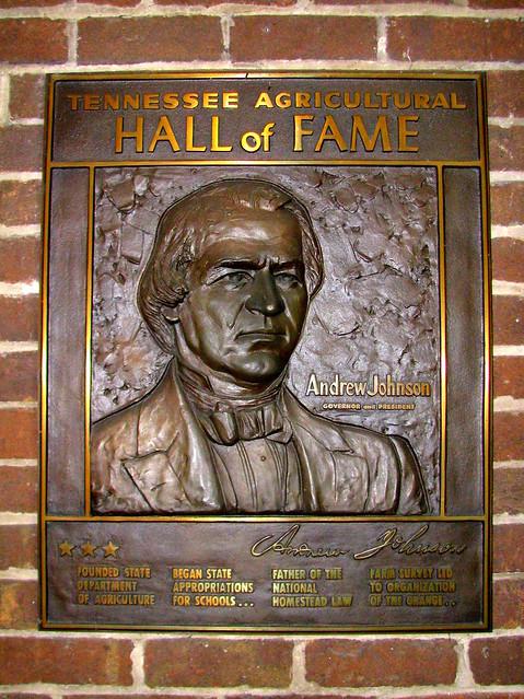 Andrew Johnson relief plaque