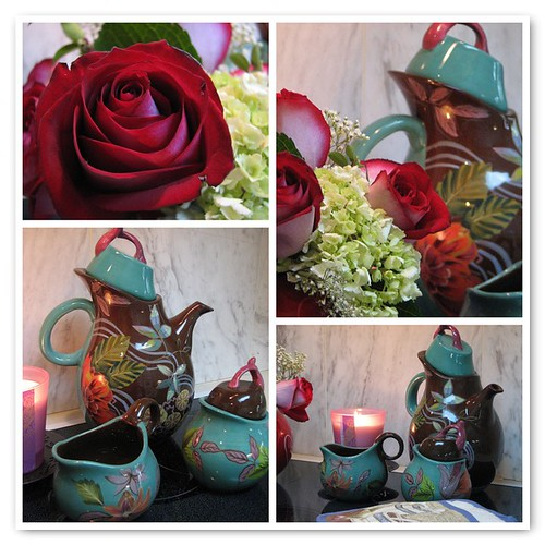 Tea and Roses Mosaic