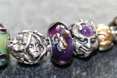 My Other Passion............... (Lady Dane (will never catch up)) Tags: england purple bracelet amethyst thumbelina myarea trollbeads