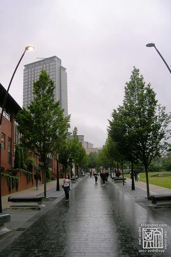 SHU Walkway