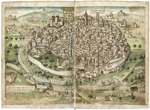 002Jerusalen-Konrad von Grünenberg- Beschreibung der Reise von Konstanz nach Jerusalem 1487- © 2010 Badische Landesbibliothek