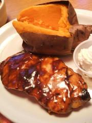 Chicken and sweet potato