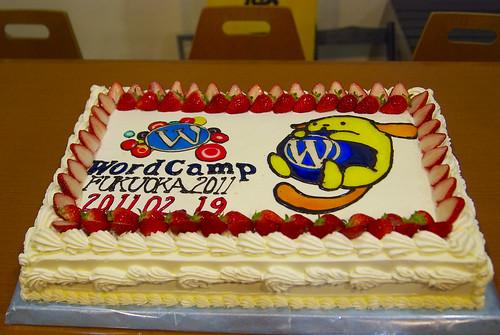 WordCamp Fukuoka 2011 ケーキ
