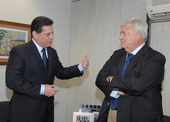 Governador recebe confirmação oficial do jogo em Goiânia (marconiperillo) Tags: brasil holanda goiânia ricardoteixeira jogodaseleção federaçãogoianadefutebolfgf
