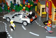 Brick to the Future (dustincropsboy) Tags: lego bttf moc afol