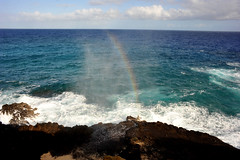 Blow Hole Rainbow