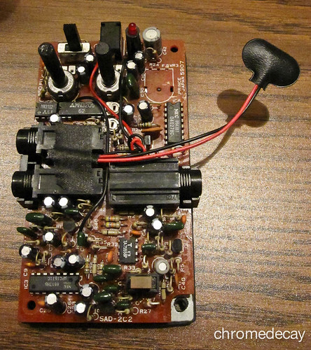 Arion SAD-1 analog delay: 9V clip fixed, bad potentiometer removed