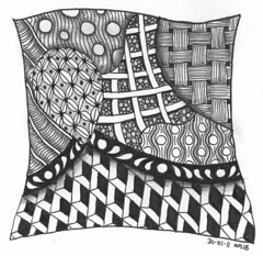 Tangle 001 (perfectly4med) Tags: tangle zentangle