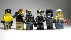Group Shot (antha) Tags: modern soldier lego fi figs sci aci faction brickarms