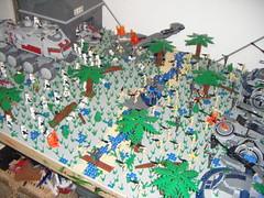 battle field completish (better qualty) (999wodahsmuz) Tags: star lego battle wars clone base naboo moc legoboy12345678