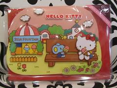 Hello Kitty Greeting Card - Thinking of You (Suki Melody) Tags: ice cat bench hellokitty cream sanrio collection card kawaii greeting