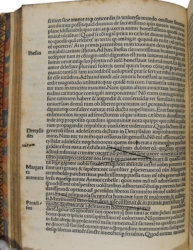 Manuscript corrections in Philelphus, Franciscus: Orationes cum quibusdam aliis eiusdem operibus