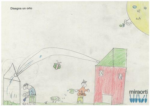 Disegna un orto 3A 1