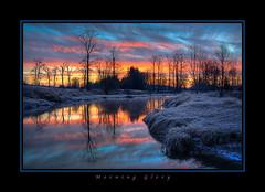 Morning Glory (Maclobster) Tags: sunrise river maple ridge alouette pitt polder keithgrajala