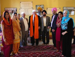 Interfaith Gathering at the Sikh Satsang of Indianapolis