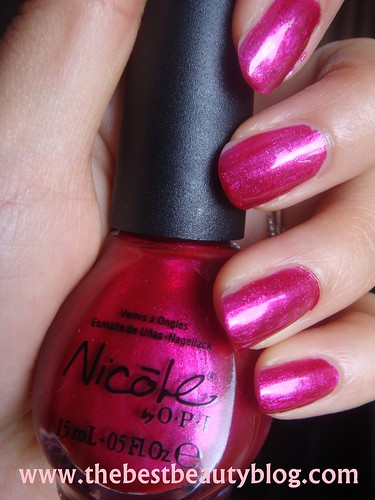 Nicole by OPI, OPI nails, I've Got The Power nail polish
