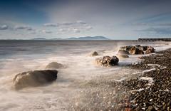 Solway View (.Brian Kerr Photography.) Tags: longexposure sea seascape misty landscape pier rocks jetty cumbria solway criffel dumfriesgalloway maryport