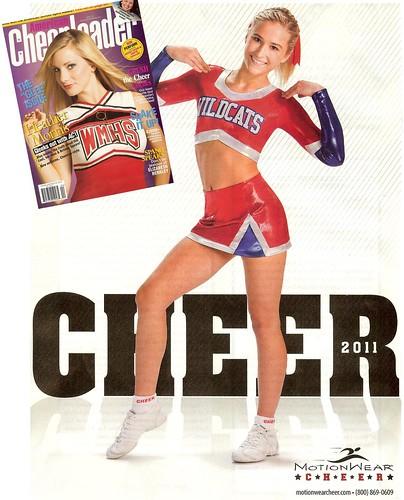 Former NAMiss Indiana Anna Garry - American Cheerleader Magazine Ad