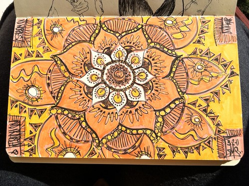 Mandala for Moleskine Exchange