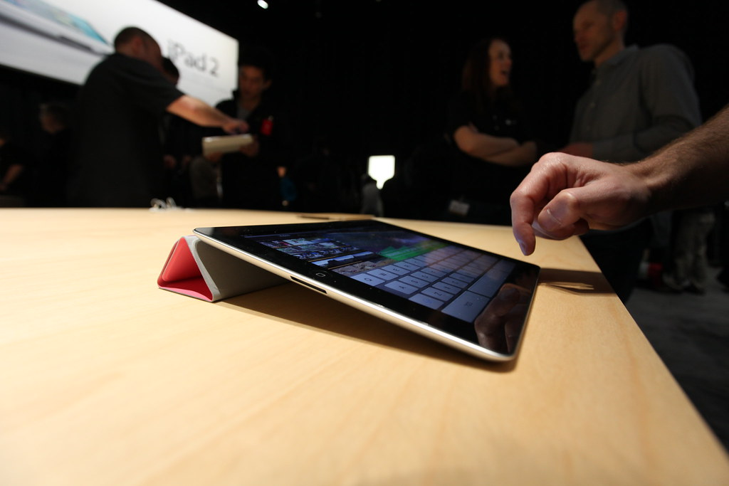 iPad 2, released March 2011, Flickr: Robert Scoble