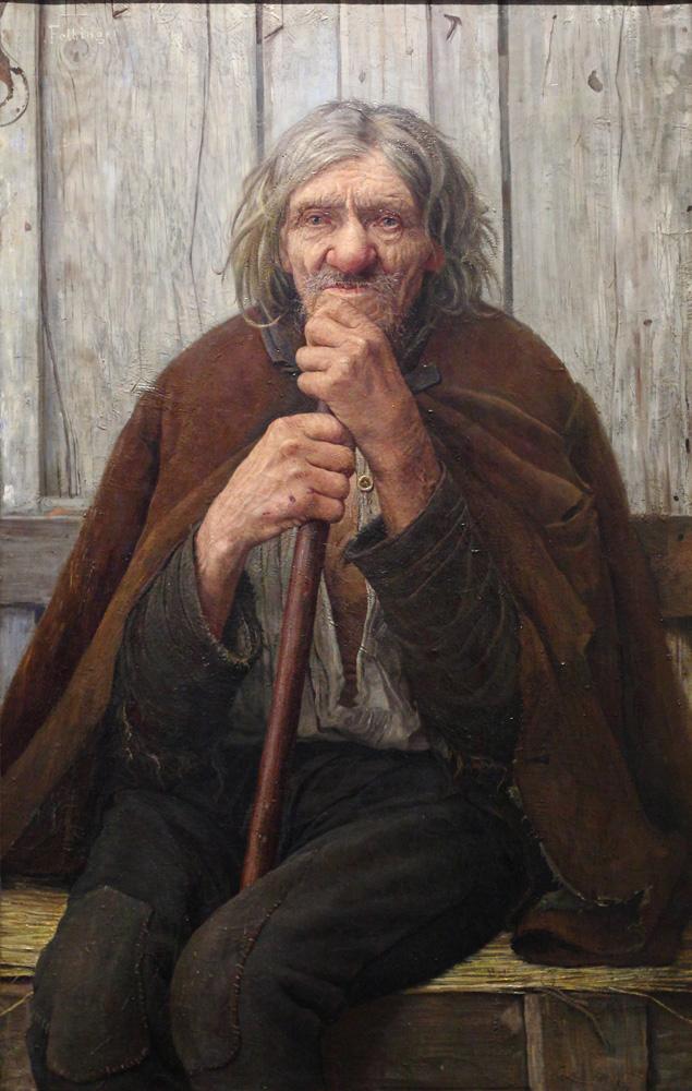 František Felbinger, Starý dráteník (Stary Jožka) [Old tinker (Old Jožka)], 1890s