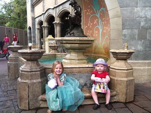 At Cinderella's Fountain