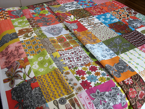 126 designs in fabric