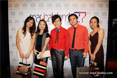 Catholic High School Classmates- Michelle Leong, Toon Siew Ying, Xavier Mah, Joe Khoo & Chia Hui Yee